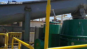 GN High G force Vertical Cuttings Dryer for WBM Waste Treatment